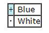 colors chart 2