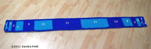fibonacci scarf numbers
