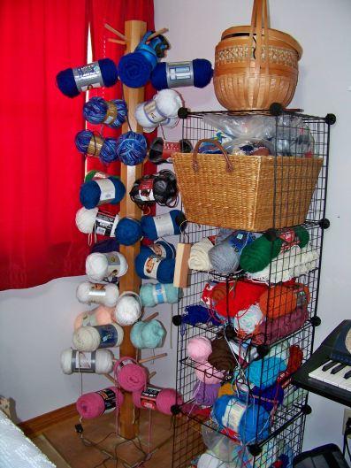 yarn tree with yarn