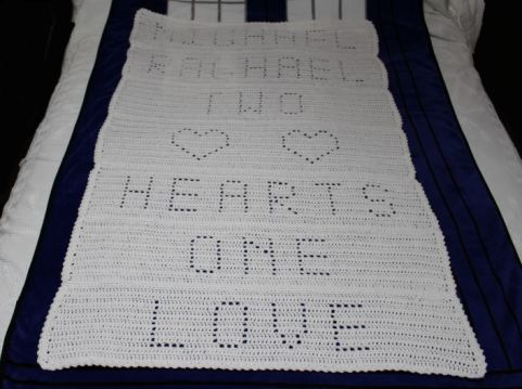 Wedding Afghan Crochet Cabana