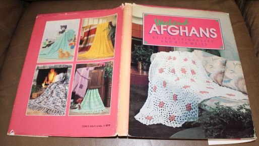 Weekend Afghans front and back paper cover